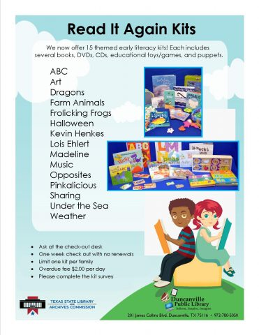 Fun, interactive kits for young readers.