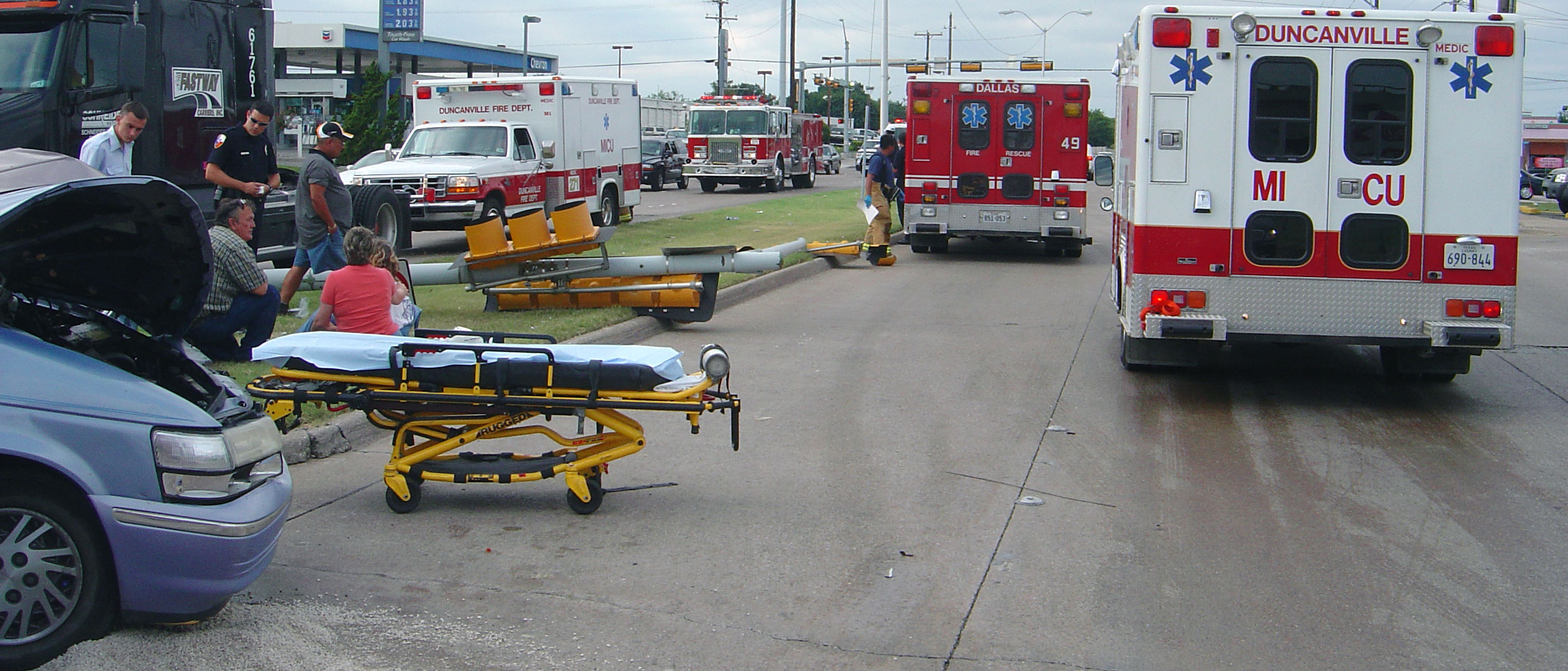 Ems Advanced Life Support City Of Duncanville Texas Usa