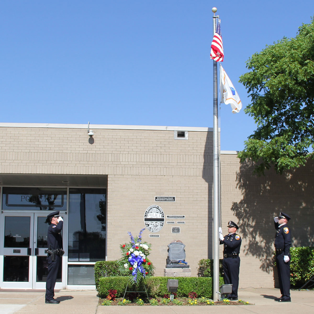 Duncanville Police Honor Guard - City of Duncanville, Texas, USA