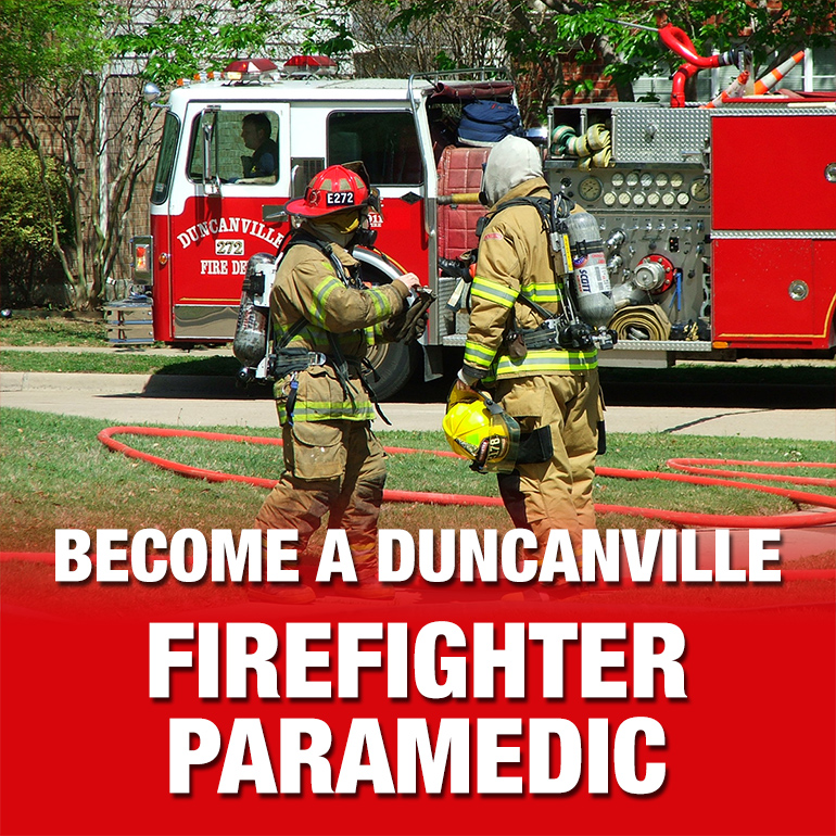 Become a Firefighter/Paramedic