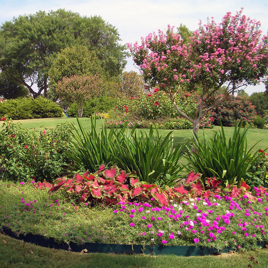 Armstrong Park Landscaping 2 City Of Duncanville Texas Usa