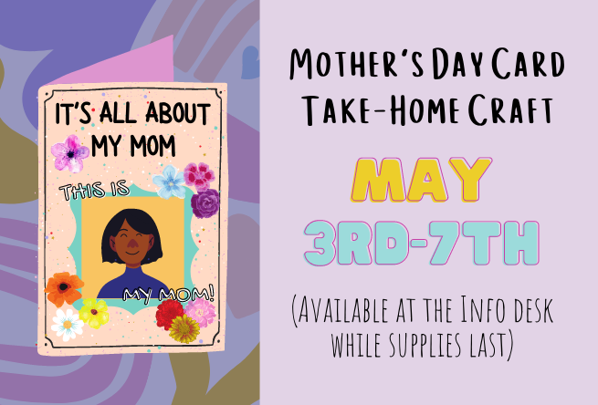 Mother's Day Card Take-Home Craft