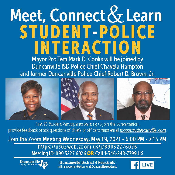 Meet, Connect & Learn - Student-Police Interaction