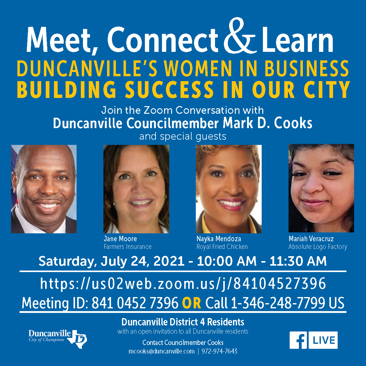 Meet, Connect & Learn